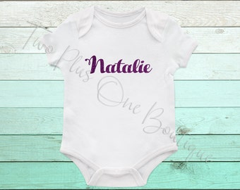 Personalized Name - Onesie or Tee
