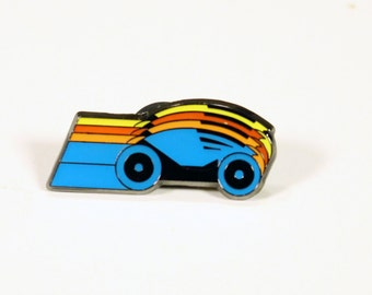 Tron Light Cycles Collectible Pin