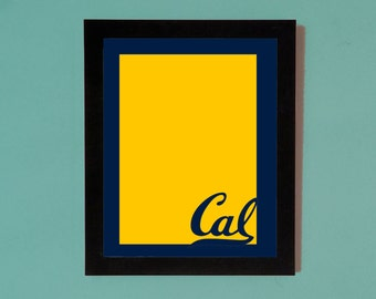 Cal Bears Picture Frame Mat