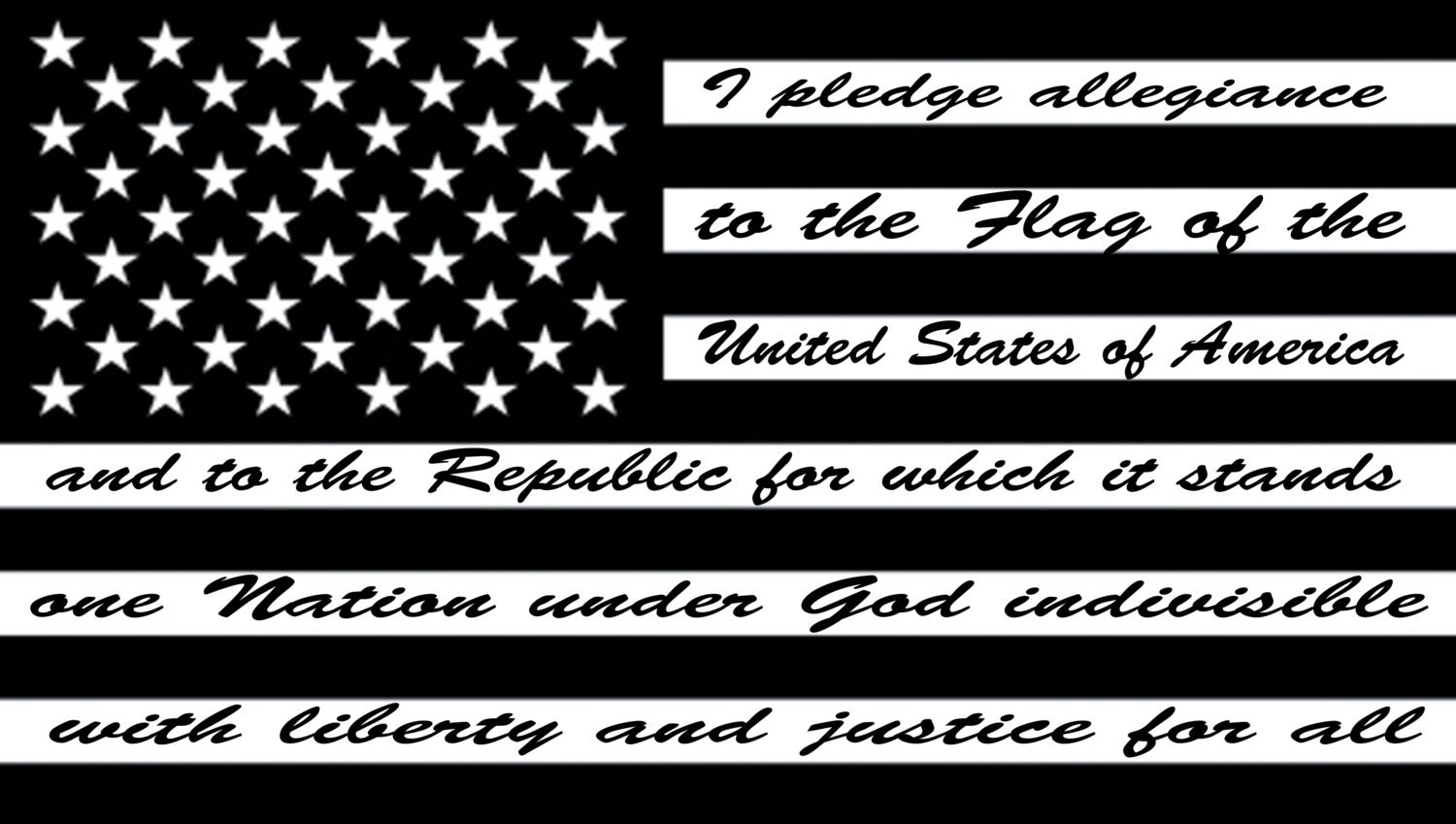 Usa pledge of allegiance vinyl decal car truck by for Dishwasher safe vinyl lettering