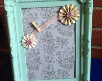 Vintage style photo frame