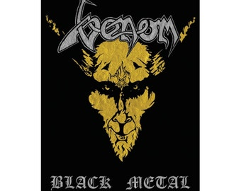 Venom - Black Metal - Official Textile poster flag with Free Shipping
