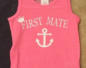Custom First Mate / Personalize Shirts