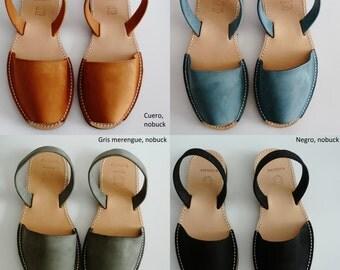 Real avarcas menorquinas, various colors, sandals, sandals, sandals, espadrilles