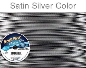 Soft Flex 100 Feet Beading Wire Medium