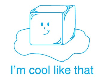 Cool Ice Cube