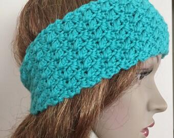 Crochet headband, crochet earwarmer,