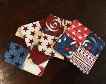 Handmade Fabric Coasters