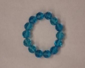 Blue Crystal-like Bracelet