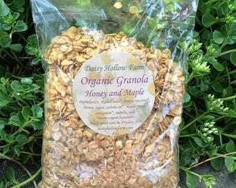 Organic Granola - Honey and Maple