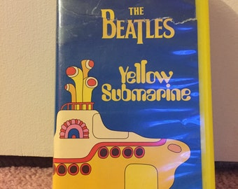 The Beatles Yellow Submarine VHS Tape