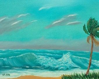 High Waves at the Beach