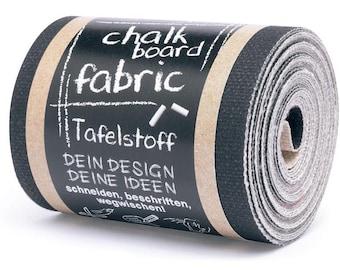 4 m - tape fabrics Blackboard has chalk - Chalboard Fabric