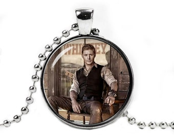 Dean Winchester Supernatural Necklace Pendant Supernatural Jewelry Geeky Fangirl Fanboy