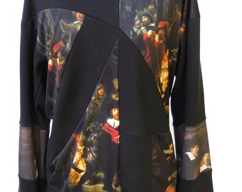 Rembrandt collage pullover
