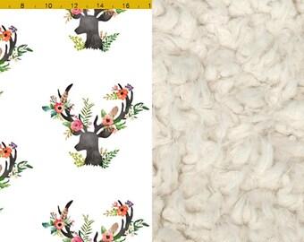 Custom Minky Faux Fur Baby Blanket