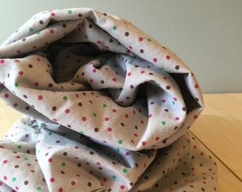 Polka Dot Crib Sheet