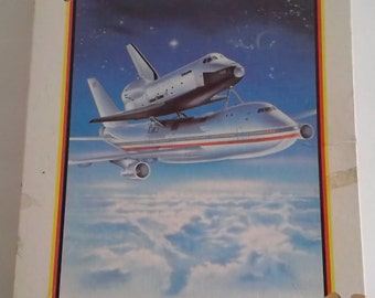 Victory Wooden Jigsaw Puzzle SPACE SHUTTLE  #7056