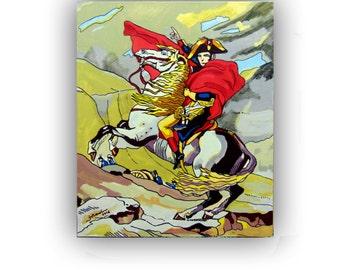 Napoleon, acrylic paint by Jotawi