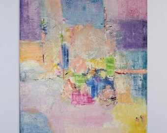 Large Abstract Painting, Modern Art, Colorful Painting, Extra Large Painting, Texture Painting, Art