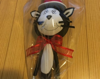 Cat In the Hat (Pencil Topper)