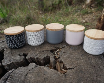 Moonlight Candles _ Australian Natural Soy candles in Ceramic jars