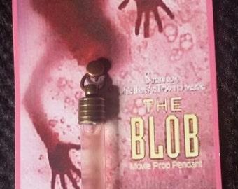 The Blob 1988 Movie Prop Liquid Form Necklace Pendant Charm