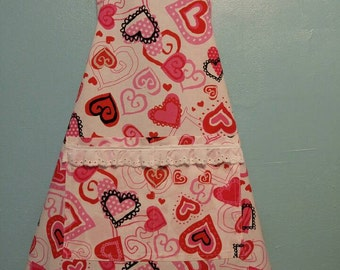 Girls Sweetheart Apron