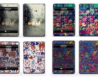 Sticker iPad mini 4, ipad mini 3 Sticker, iPad mini skin, Decal ipad mini 4, iPad mini decal skins by Qsticker (4 styles)