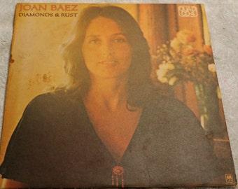 Joan Baez - Diamonds & Rust - 1976 - vinyl
