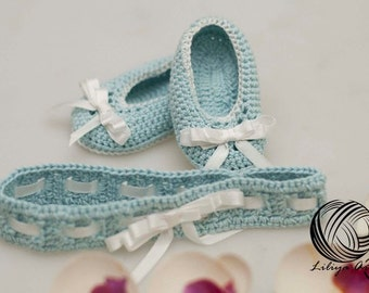 "Booties ""Eve"",Baby Booties, Baby Loafers, Baby Loafer Booties, Crochet baby booties, Crochet baby loafers"