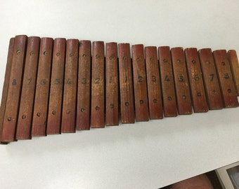 Vintage 1900's antique childs xylophone