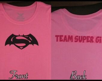 Batman vs Superman Custom Adult Shirt