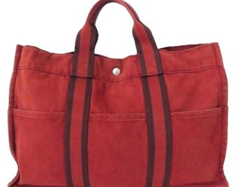 Red Canvas 174571 Hzz09 Tote Bag