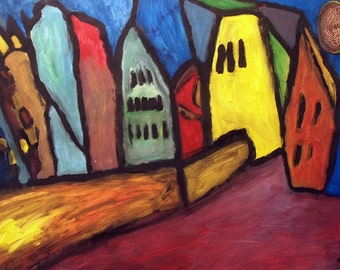 Town With Pity (Smith Rottluff)