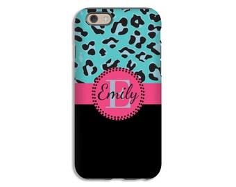 Monogram iPhone 7 case, leopard print iPhone X case, iPhone 7 Plus case, iPhone 8/8 Plus case, iPhone 6s/6s Plus/6/6 Plus cases