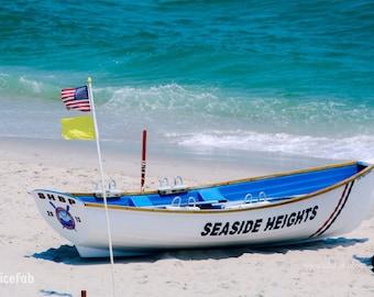 Boat at the Beach Photo, Photo, Photography, Boat at the Beach Photography, Home Decor, Gift, Beach Photo, Beach Photography, Jersey Shore