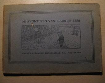 Old comic book the adventures of Rupert bear ... 1932