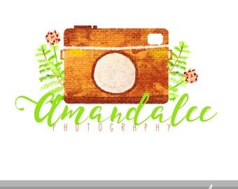 Photographer Series Logo Design // Premade Logo // Business Logo // Photographer Logo // Camera Logo