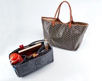 High Quality Felt Bag Organizer Insert  for Goyard PM GM Shopper