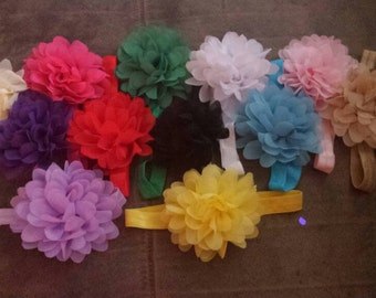 Flower bows.