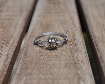 Authentic Handcrafted Silver Wire Ring
