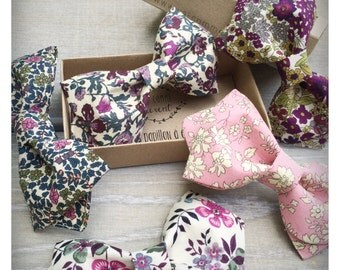 Spindle bow tie in Liberty