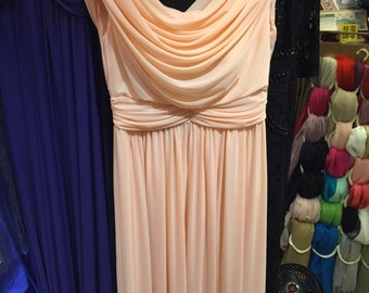 7 Beautiful Peach Bridesmaid dresses - brand new