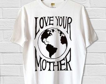 Men's Love Your Mother Hemp/Cotton Tee