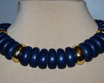 Vintage statement necklace from the1980s