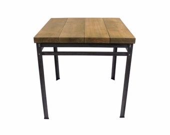 Kitchen Table, Seats 2-4 (Oak/Steel)