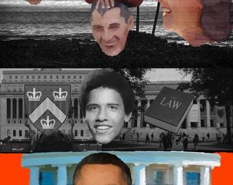 President Obama Collage
