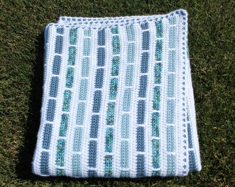 Crochet Throw, Crochet Blanket,