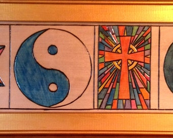 Symbols of Love and Peace